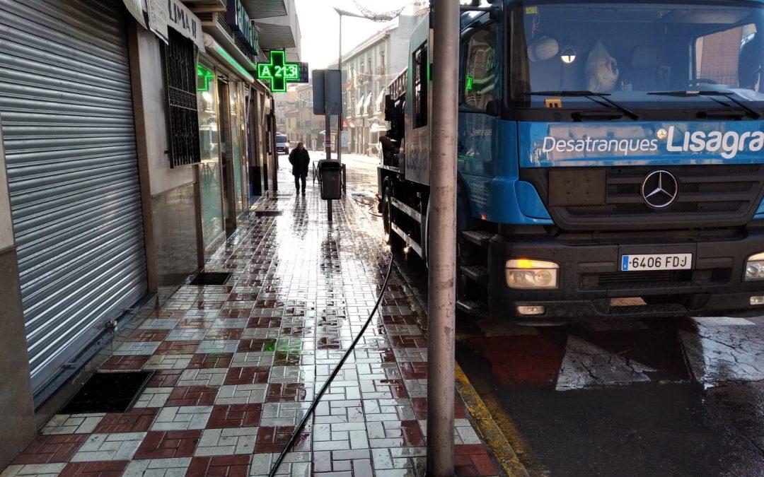 Limpieza de Calles en Albolote