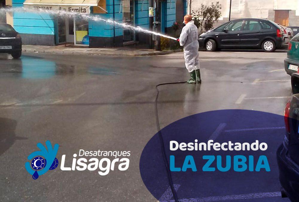 Desinfectando LA ZUBIA